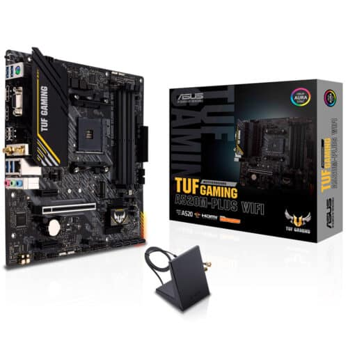 Placa de baza Asus TUF Gaming A520M-PLUS Wi-Fi, Socket AM4