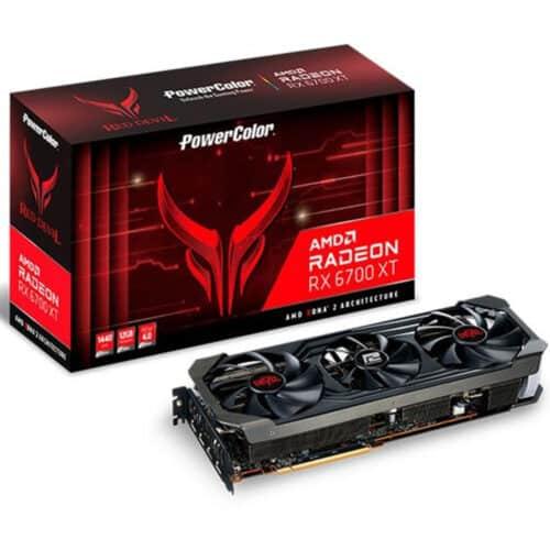 Placa video PowerColor Red Devil, Radeon RX 6700 XT, 12GB GDDR6, 192-bit