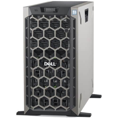 Server Dell PowerEdge T440, Intel Xeon Silver 4208, 8C/16T, 9.6GT/s, 11M Cache, 16GB RDIMM, 600GB 10k rpm SAS 12Gbps