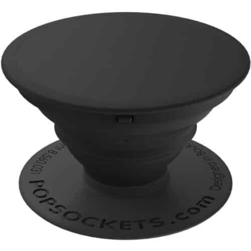 Suport universal de telefon Popsockets, PopSlide Stretch Black