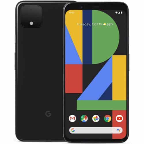 Telefon mobil Google Pixel 4 GPXL-4-664SS-BK, 5.7