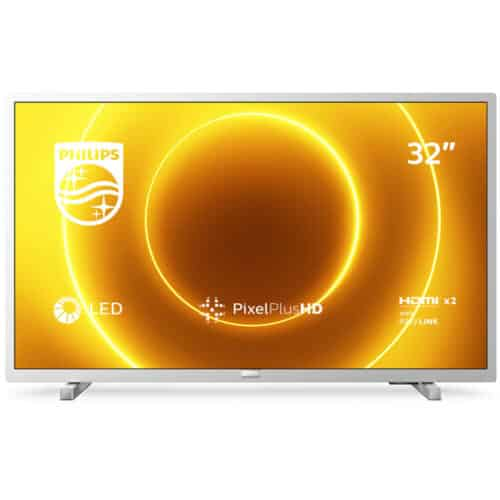 Televizor LED Philips 32PHS5525/12, 80 cm, HD, Clasa E, Argintiu