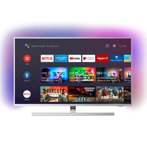 Televizor LED Philips 58PUS8505/12, 146 cm, Smart Android, 4K, Ultra HD, Clasa G