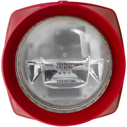 Alarma Honeywell IQ8Alarm Plus 807224RR, semanal sonor si luminos, lumina rosie- Resigilat