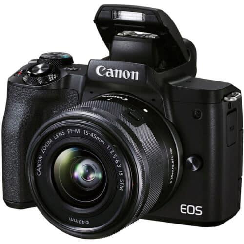 Aparat foto Mirrorless Canon EOS M50 Mark II, 24.1 MP, 4k, WiFi, 3