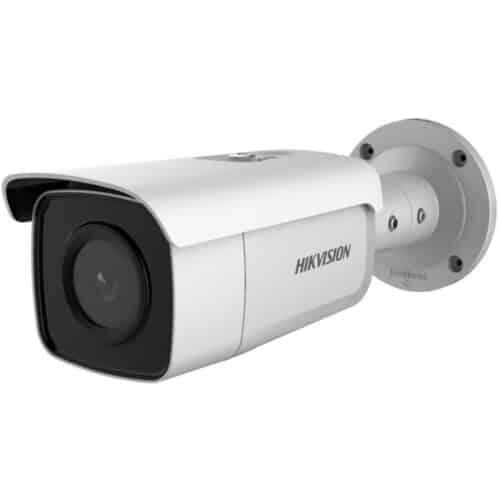 Camera supraveghere Hikvision IP bullet DS-2CD2T86G2-4I2C, 8MP; Acusens Pro Series, lentila: 2.8mm, IR: 80 metri, Alb