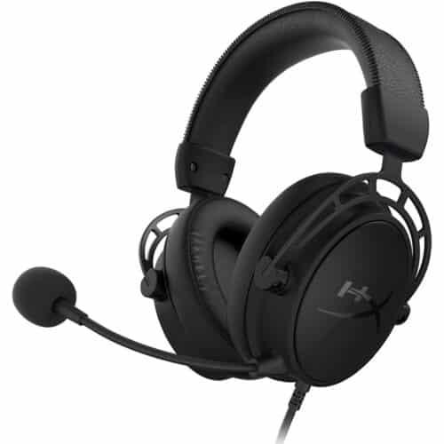 Casti gaming HyperX Cloud Alpha S, Negru