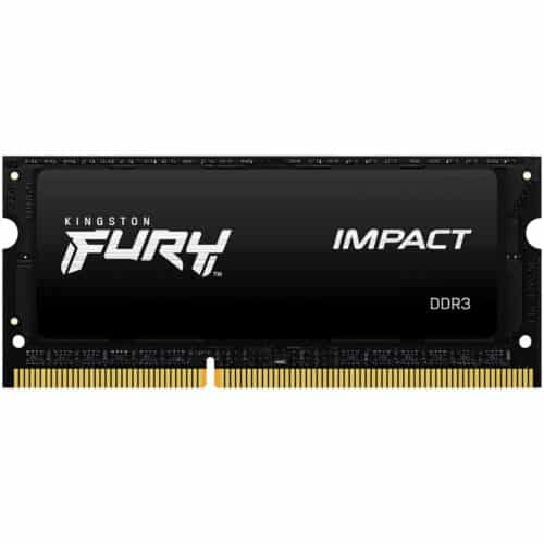 Memorie RAM Laptop Kingston Fury Impact KF316LS9IB/8, 8GB, DDR3L, 1600Mhz, SODIMM