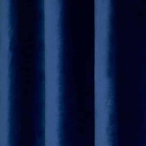 Set 2 draperii catifea 140x270 cm- Albastre