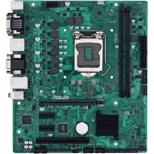 Placa de baza Asus PRO H510M-C/CSM, Socket LGA 1200, Micro ATX business motherboard, moisture-resistant, 1 Gb Ethernet