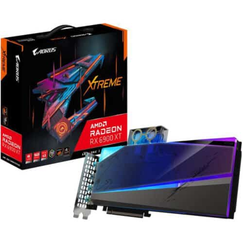 Placa video Gigabyte AORUS Radeon RX 6900 XT XTREME WATERFORCE WB, 16GB GDDR6, 256 bit