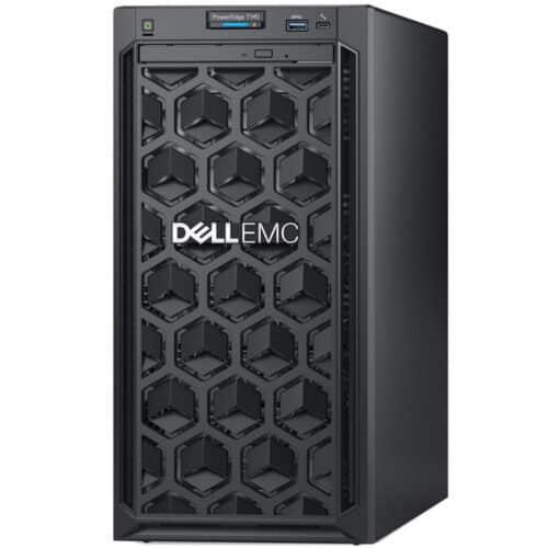 Server Dell PowerEdge Tower T140, Intel Xeon E-2224 3.4GHz, 8M cache, 4C/4T, turbo, 16GB DDR4, 1TB 7.2K RPM HDD