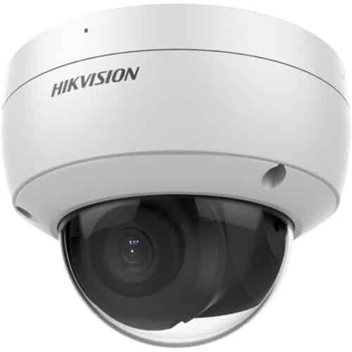 Camera supraveghere Hikvision IP dome DS-2CD2146G2-ISU2C, 4MP, 2688 × 1520@ 30fps, filtrarea alarmelor false, IR: 30m