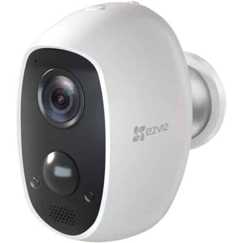 Camera supraveghere wireless IP Bullet EZVIZ C3A, 2 MP, lentila 2.2 mm, IR 7.5 m, acumulator intern 5500 mAh, PIR - Resigilat