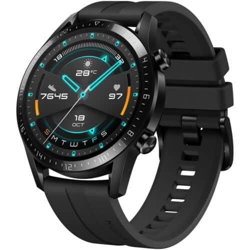 Ceas Smartwatch Huawei Watch GT 2, 46mm, Sport, Matte Black