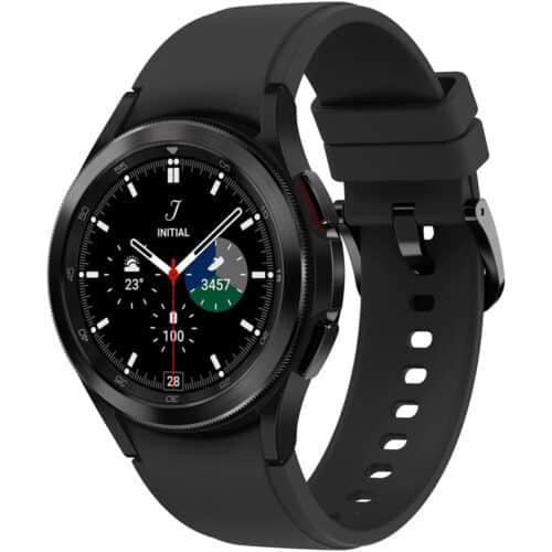 Ceas smartwatch Samsung Galaxy Watch4, 42mm, LTE, Classic, Black