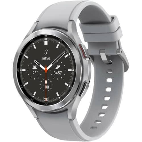 Ceas smartwatch Samsung Galaxy Watch4, 46mm, BT, Classic, Silver