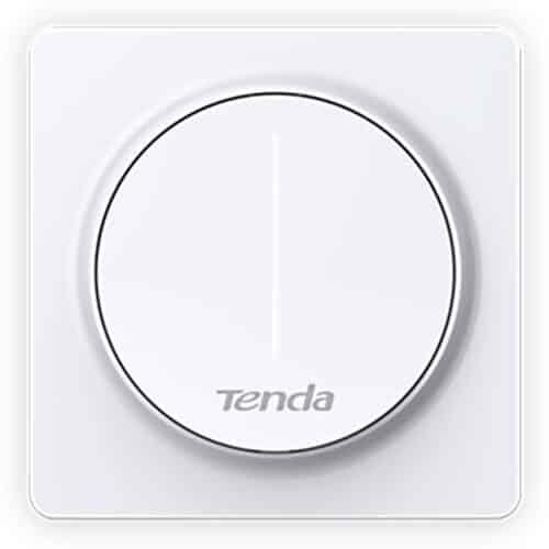 Intrerupator Smart TENDA SS9, WiFi, cu variator (dimmer), 2.4 GHz, compatibil cu Amazon Alexa, Google Assistant