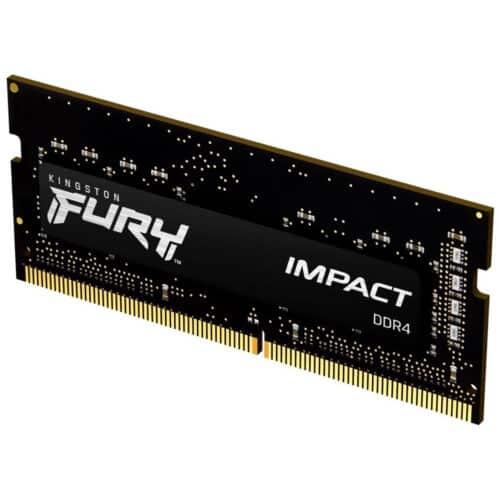 Memorie RAM Laptop Kingston Fury Impact KF426S16IB/16, 16GB, DDR4, 2666Mhz, SO-DIMM