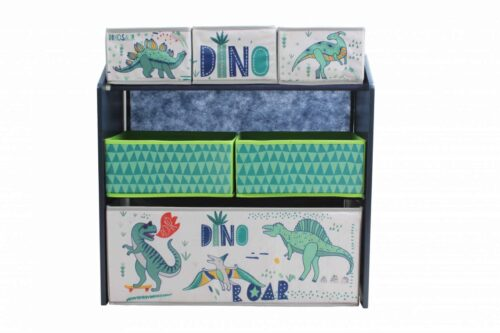 Dulap depozitare jucarii Dinozauri