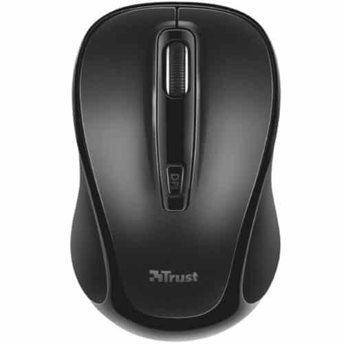 Mouse Trust Zelo, bluetooth, USB, negru