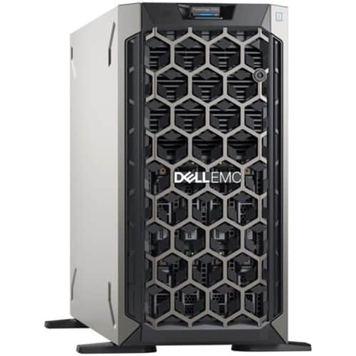 Server Dell PowerEdge T340, Intel Xeon E-2224 3.4GHz, 8M cache, 4C/4T, 16GB UDIMM, 3200MT/s, ECC, HDD 600GB 10K RPM SAS 12Gbps, 495W
