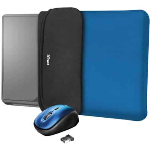 Set Husa Laptop Trust Yvo 2-in-1 + Mouse Wireless TR-23452, 15.6