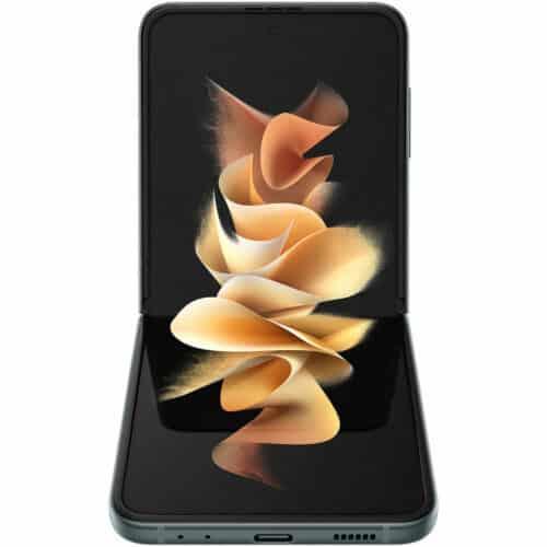 Telefon mobil Samsung Galaxy Z Flip3, 8GB RAM, 256GB, 5G, Green