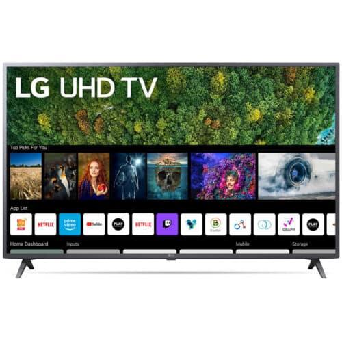Televizor LG 50UP76703LB, 126 cm, Smart, 4K, Ultra HD, LED, 60 Hz, HDR 10, Clear Voice III, Clasa G