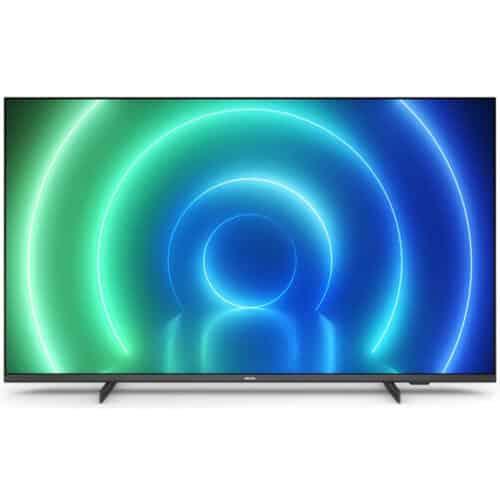Televizor Philips 43PUS7506/12, 108 cm, Smart, 4K, Ultra HD, LED, 2 x HDMI, 1 x RJ-45, CI+ slot, 2 x USB, Clasa G