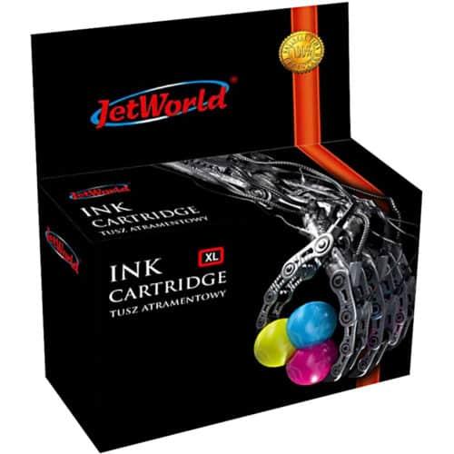 Cartus cerneala JetWorld JWI-H305XLCMYR, Color CMY, HP 305XL, 22 ml, compatibil cu HP DeskJet 2710, 2720, 2721