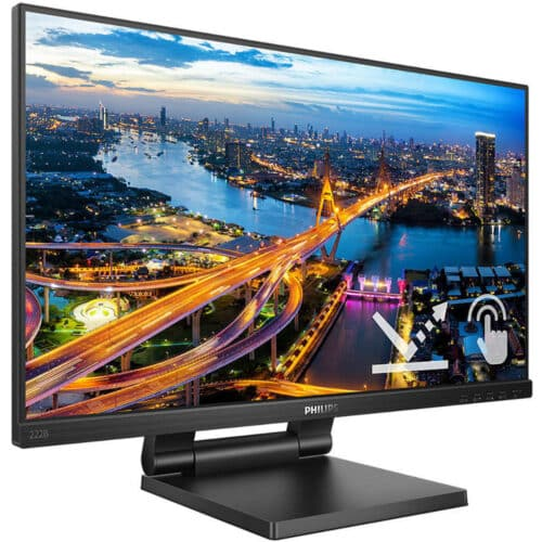 Monitor WLED Philips 222B1TC, 21.5