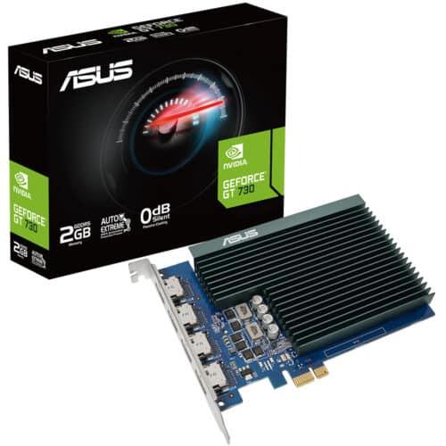 Placa video Asus GeForce GT730-4H-SL-2GD5, PCI Express 2.0, 2GB GDDR5, 64 bit