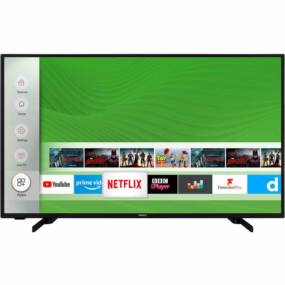 Televizor Horizon 43HL7530U, 108 cm, Smart, 4K, Ultra HD, LED, CI+, HDMI, D-Sub, VESA, Clasa G - Resigilat