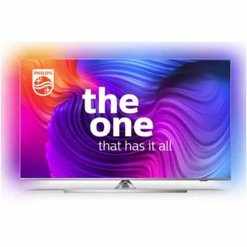 Televizor Philips 43PUS8536/12, 108 cm, Smart Android, 4K, Ultra HD, LED, Android TV, Clasa G, CI+ slot, 4 x HDMI, 2 x USB