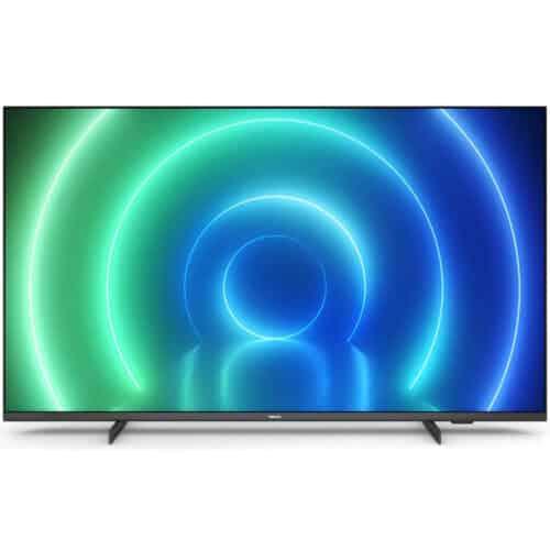 Televizor Philips 55PUS7506/12, 139 cm, Smart, 4K, Ultra HD, LED, CI+ slot, 3 x HDMI, 2 x USB, Clasa G