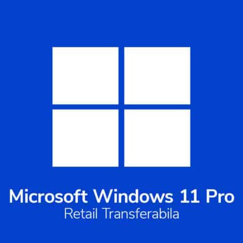 Licenta electronica Microsoft Windows 11 Pro Retail
